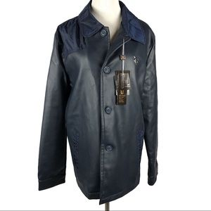 NWT VG World Collection Jacket Italy Navy Size M